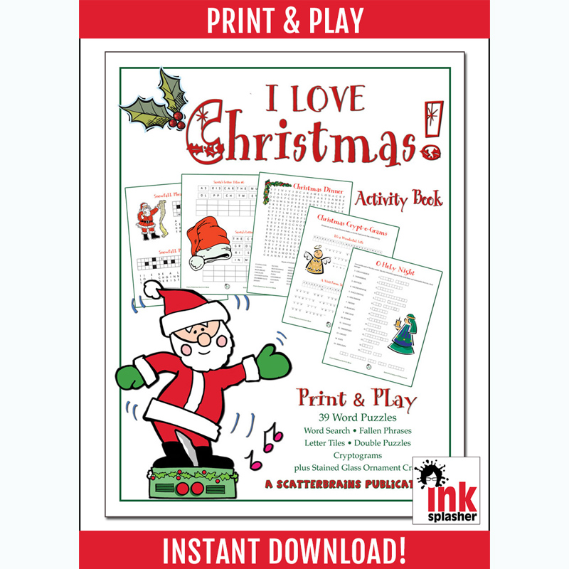 I Love Christmas! Activity Book