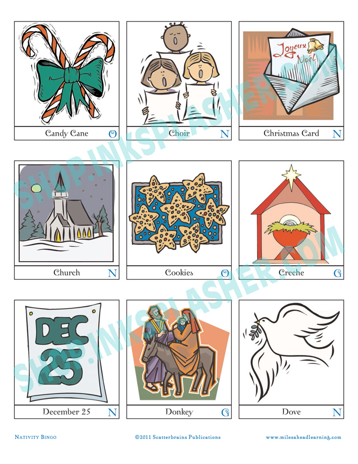 photograph regarding Printable Go Fish Cards named Nativity Bingo, Game-Ups, Transfer Fish Printable
