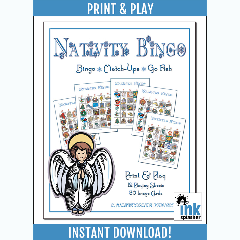 Nativity Bingo Printable