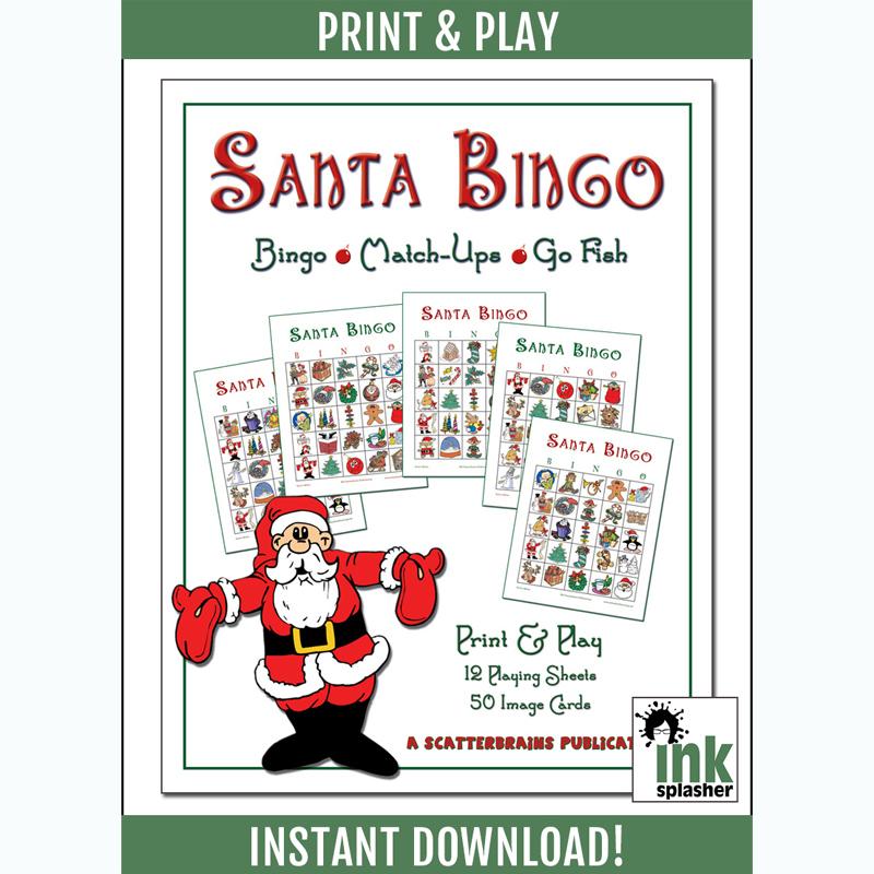 Santa Bingo Printable